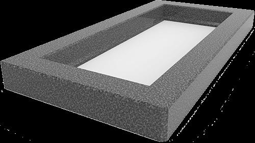 Купить цветник на могилу из бетона соль бетон
