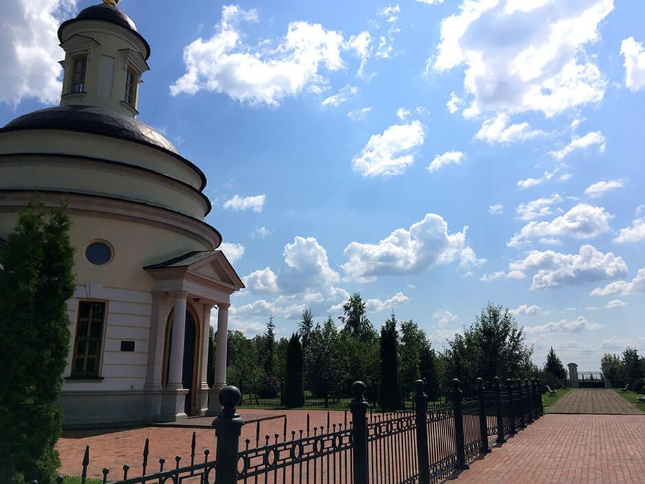 Аносинское кладбище. Фото 1