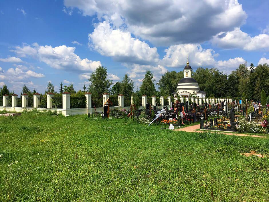 Аносинское кладбище. Фото 3