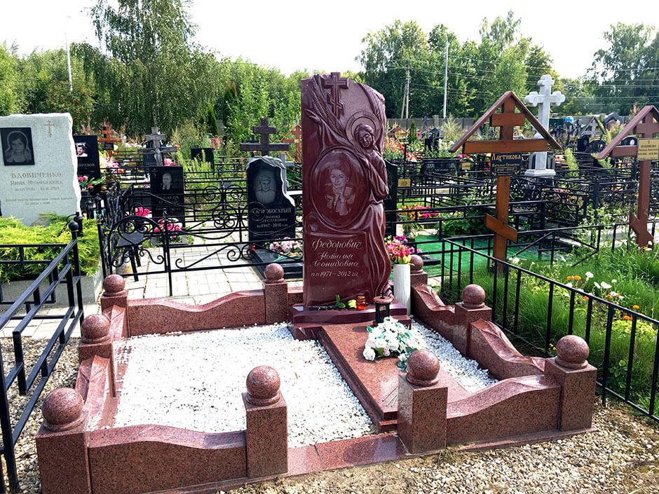 Аносинское кладбище. Фото 5
