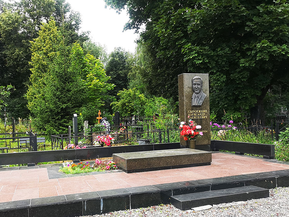 Бронницкое городское кладбище. Фото 6