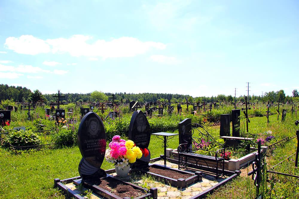 Дементьевское кладбище. Фото 1