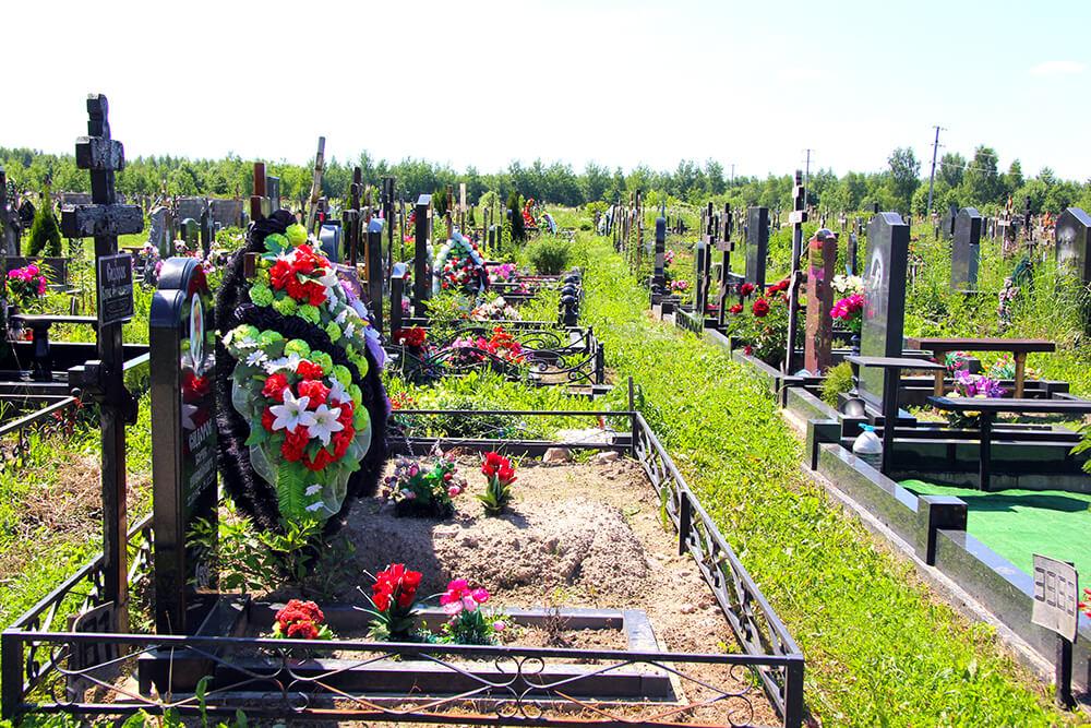 Дементьевское кладбище. Фото 10