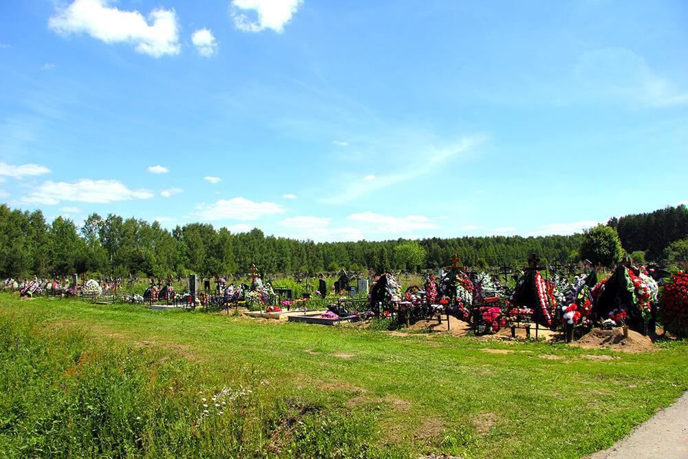 Дементьевское кладбище. Фото 13