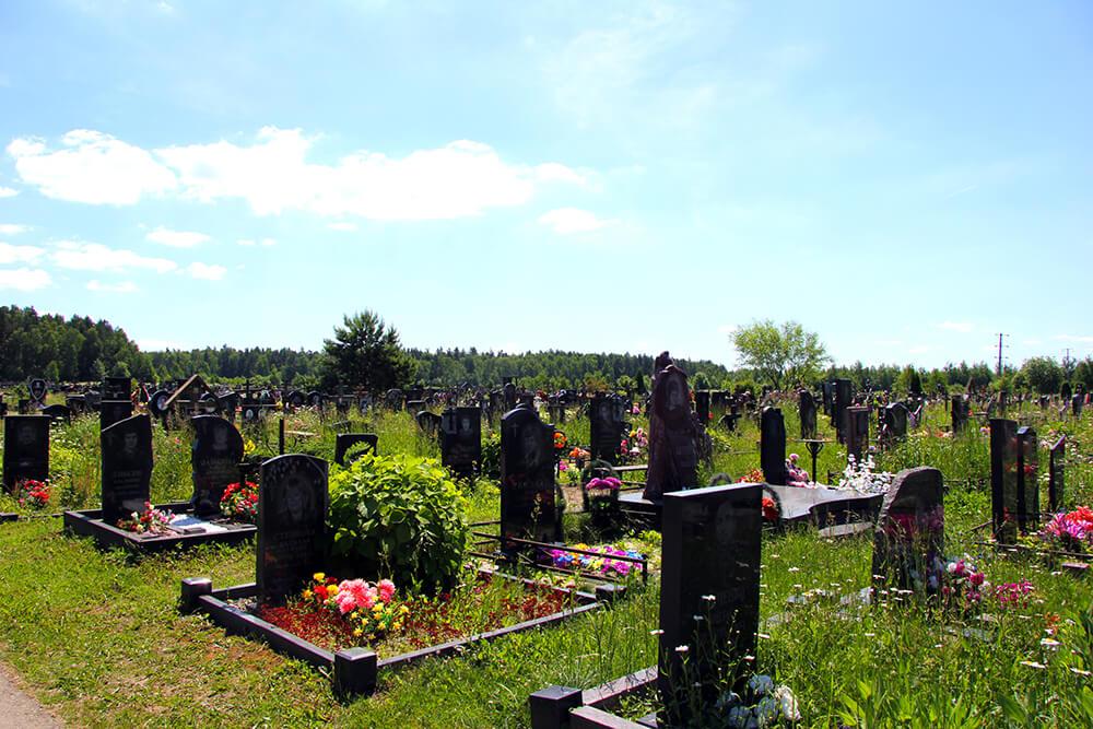 Дементьевское кладбище. Фото 2