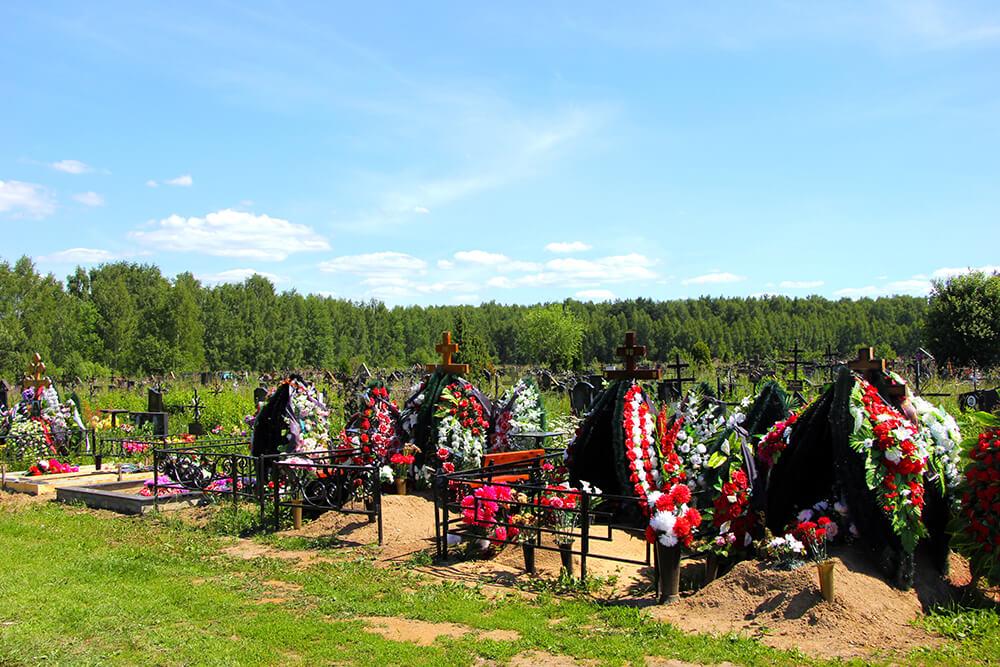 Дементьевское кладбище. Фото 3