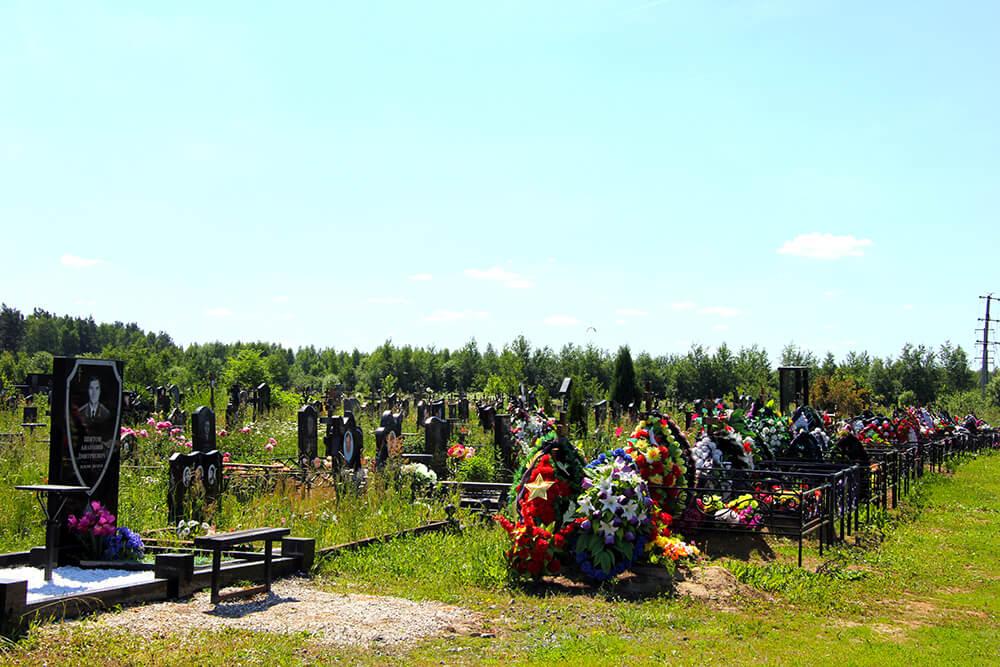 Дементьевское кладбище. Фото 5