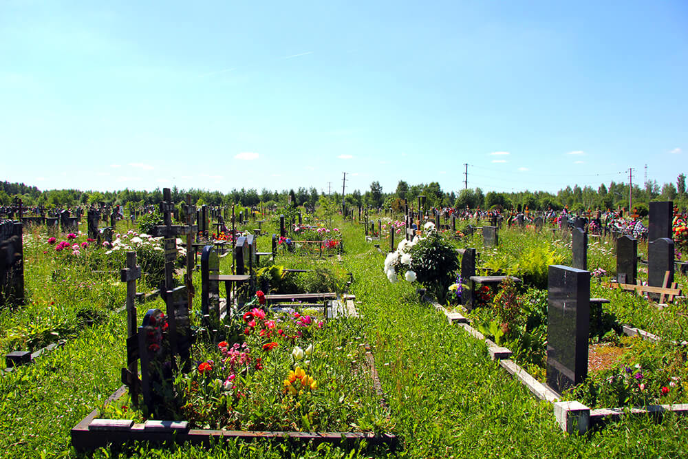 Дементьевское кладбище. Фото 6