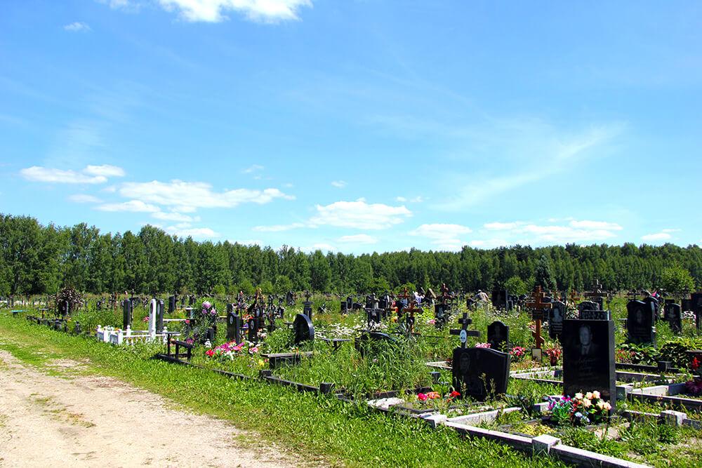 Дементьевское кладбище. Фото 8