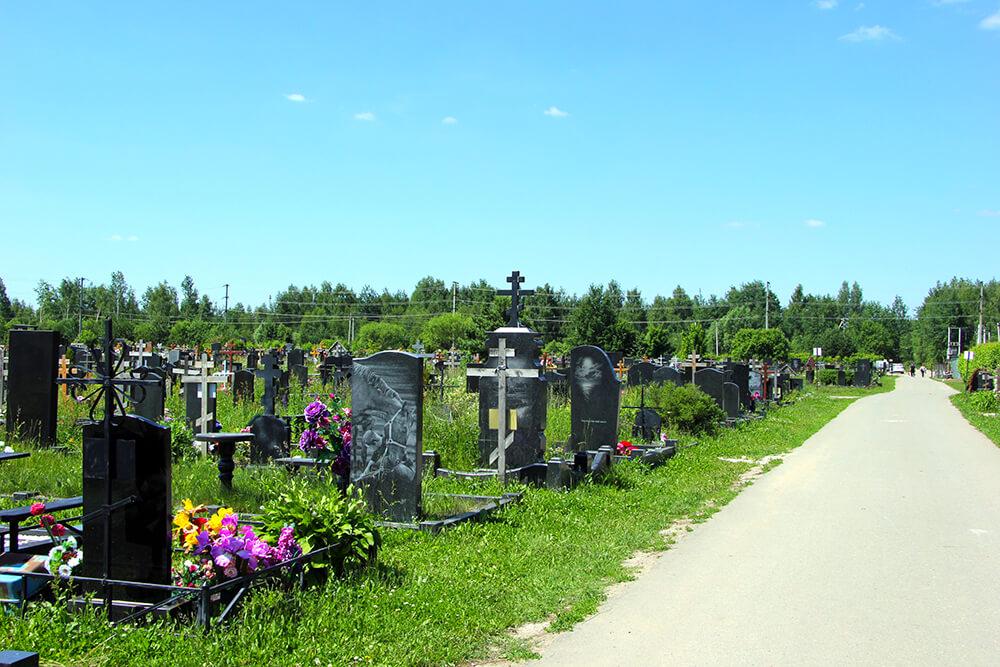 Дементьевское кладбище. Фото 9