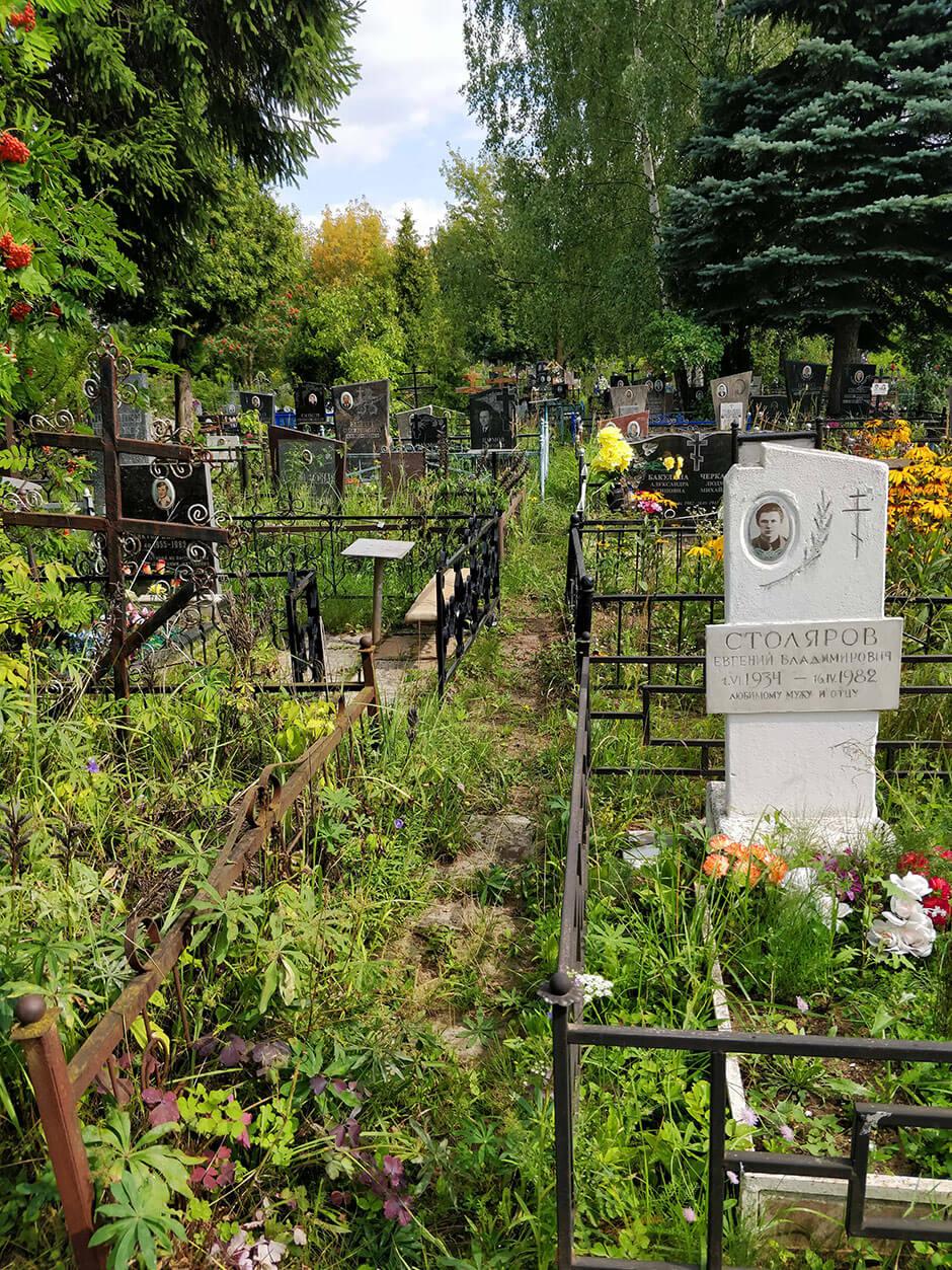 Городское кладбище Домодедово. Фото 1