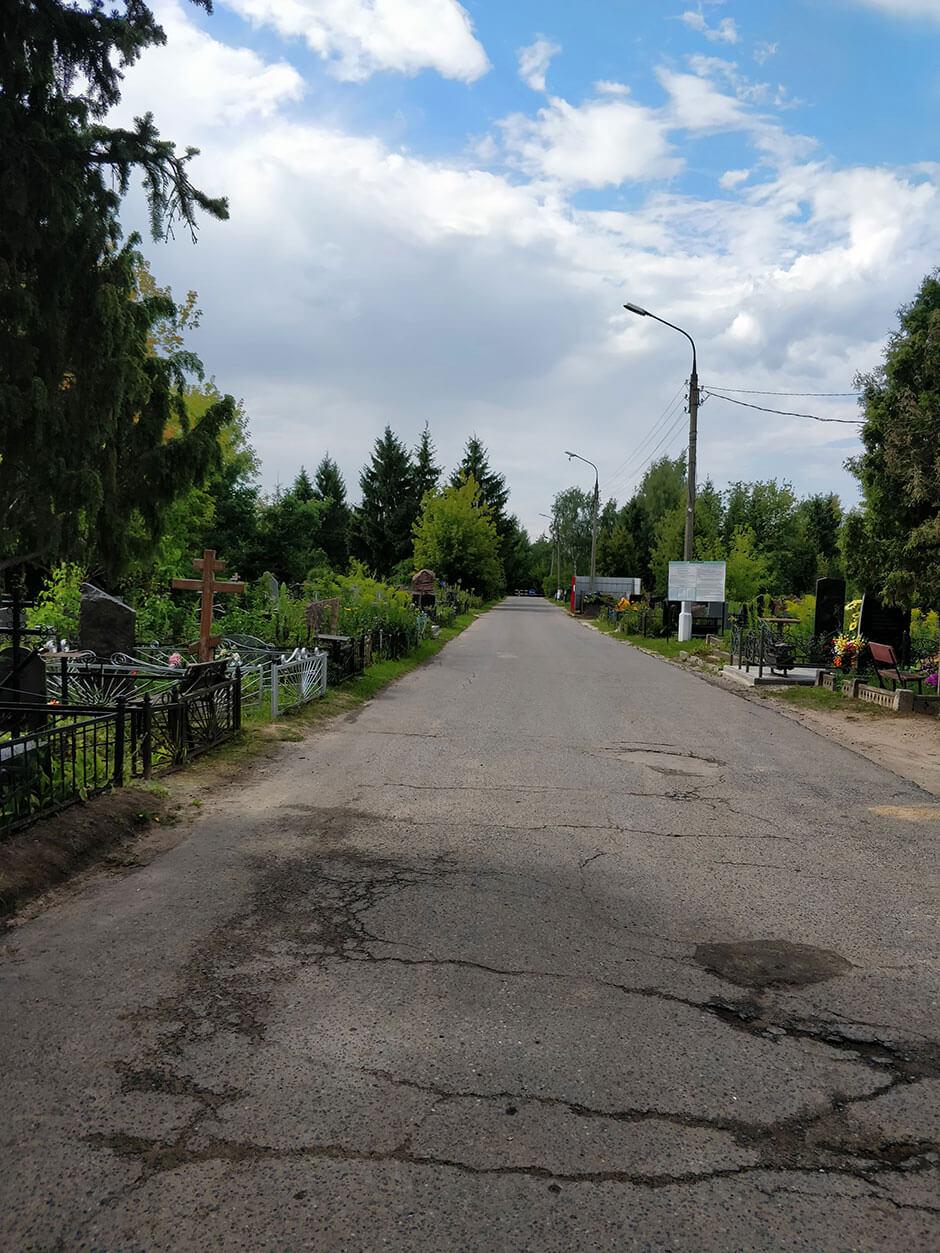 Городское кладбище Домодедово. Фото 4