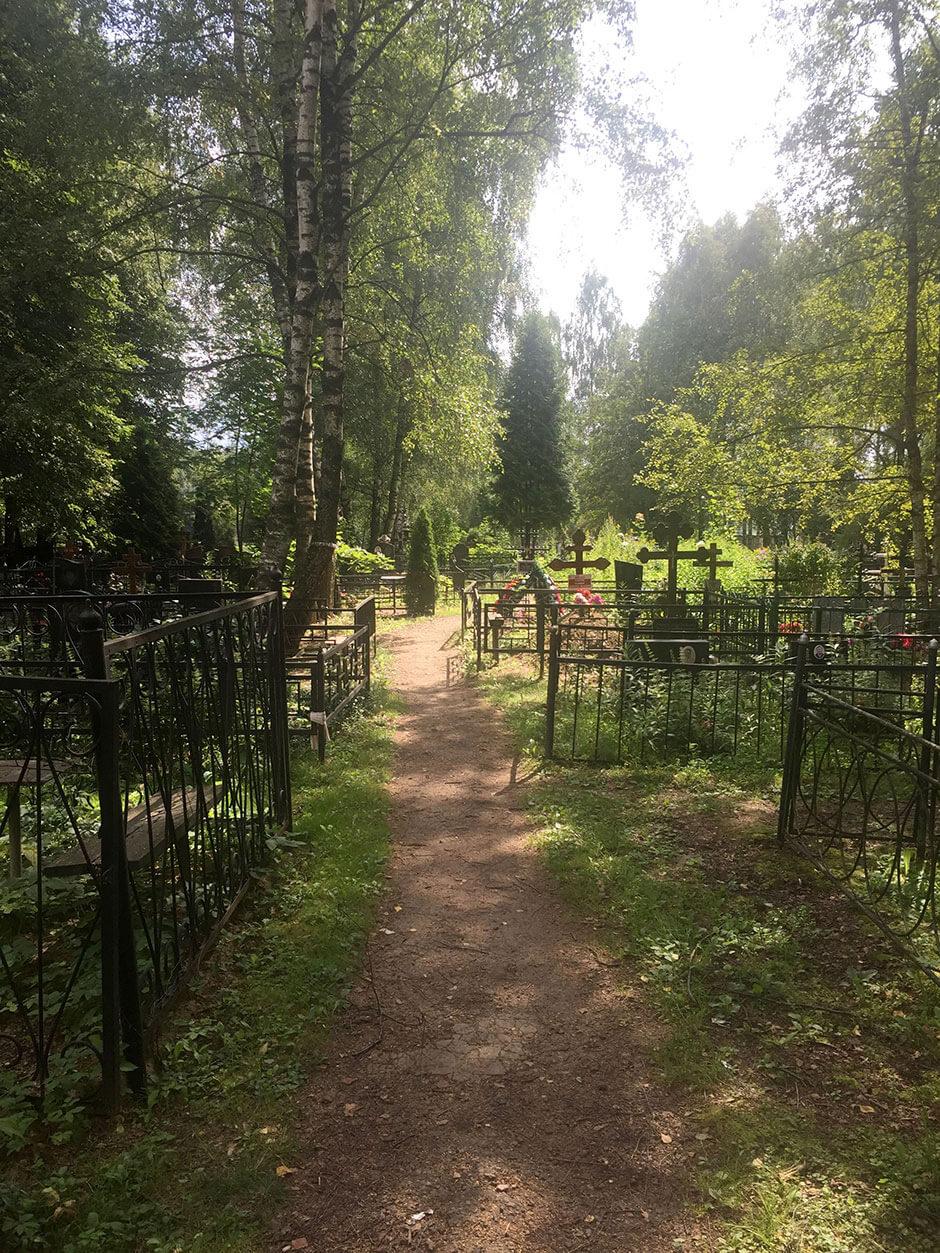 Ерёминское кладбище. Фото 1