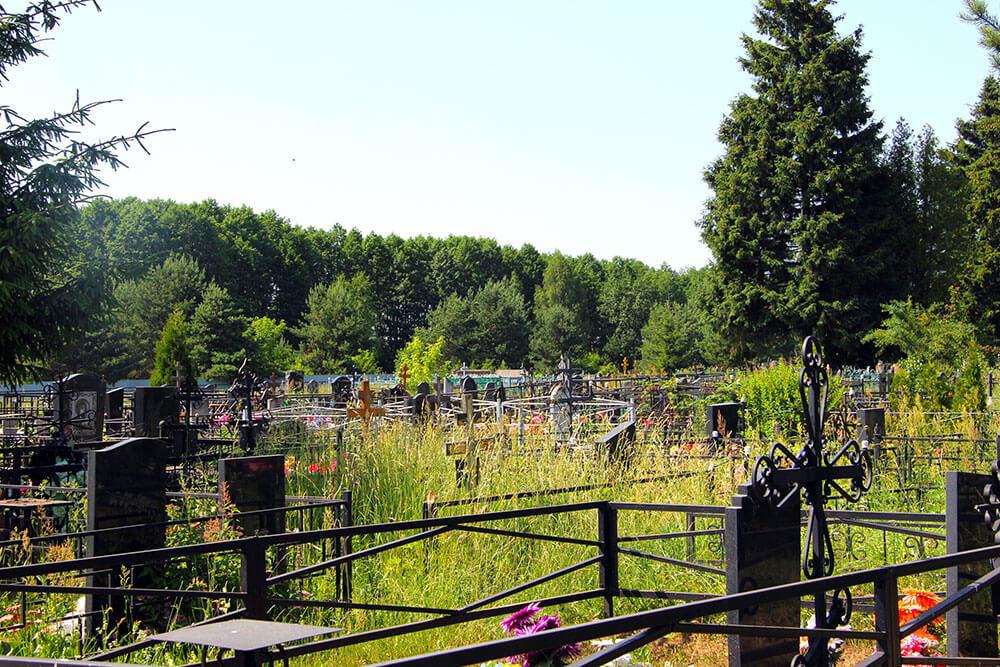 Гжельское кладбище. Фото 10