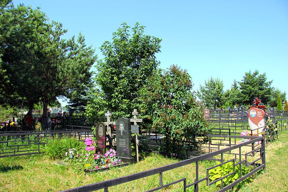 Гжельское кладбище. Фото 11