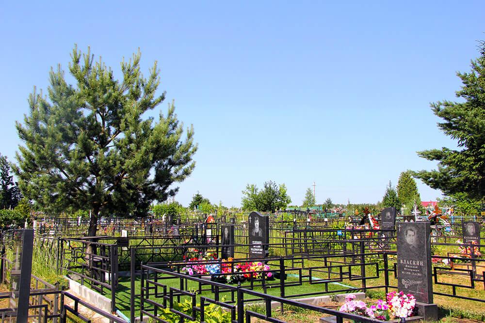 Гжельское кладбище. Фото 12