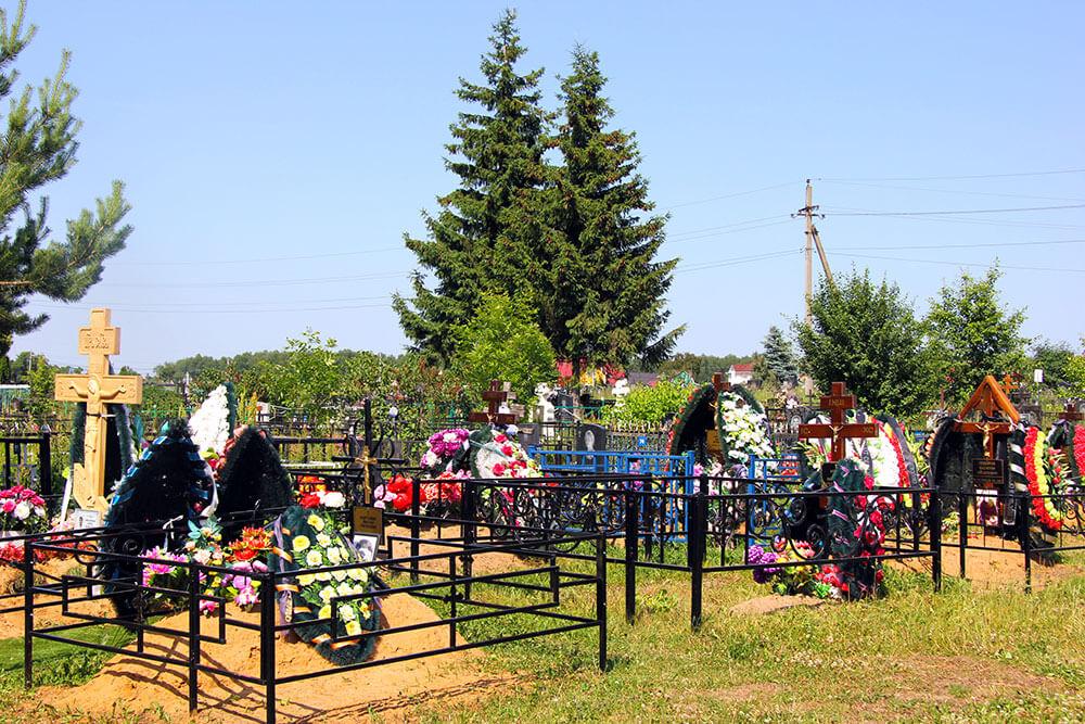 Гжельское кладбище. Фото 3