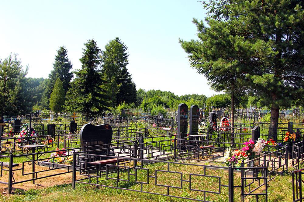 Гжельское кладбище. Фото 4