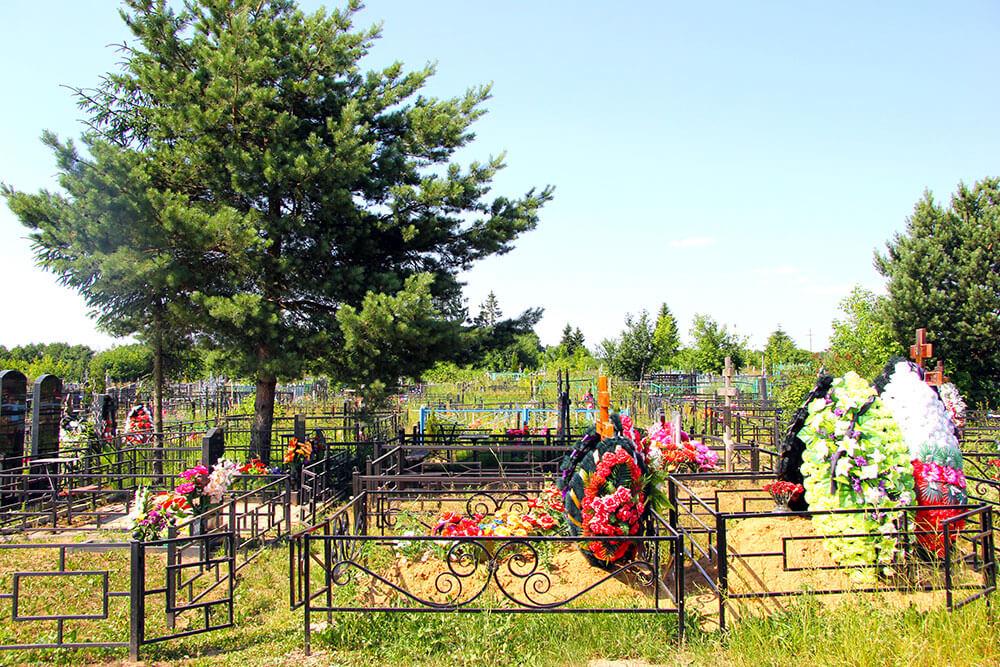 Гжельское кладбище. Фото 5