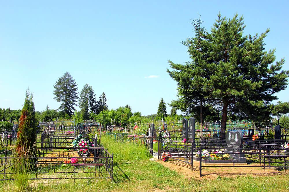 Гжельское кладбище. Фото 6