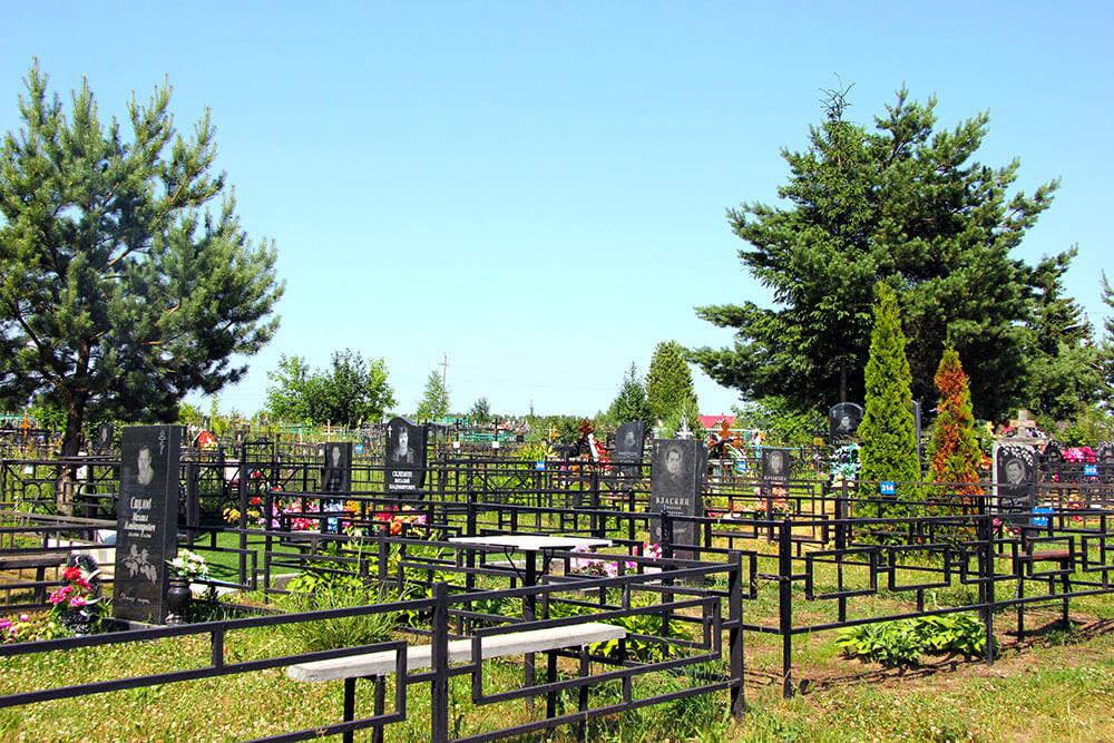 Гжельское кладбище. Фото 7