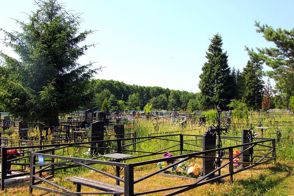 Гжельское кладбище. Фото 9