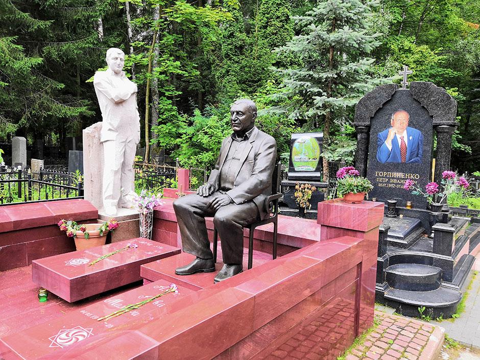 Химкинское кладбище. Фото 7