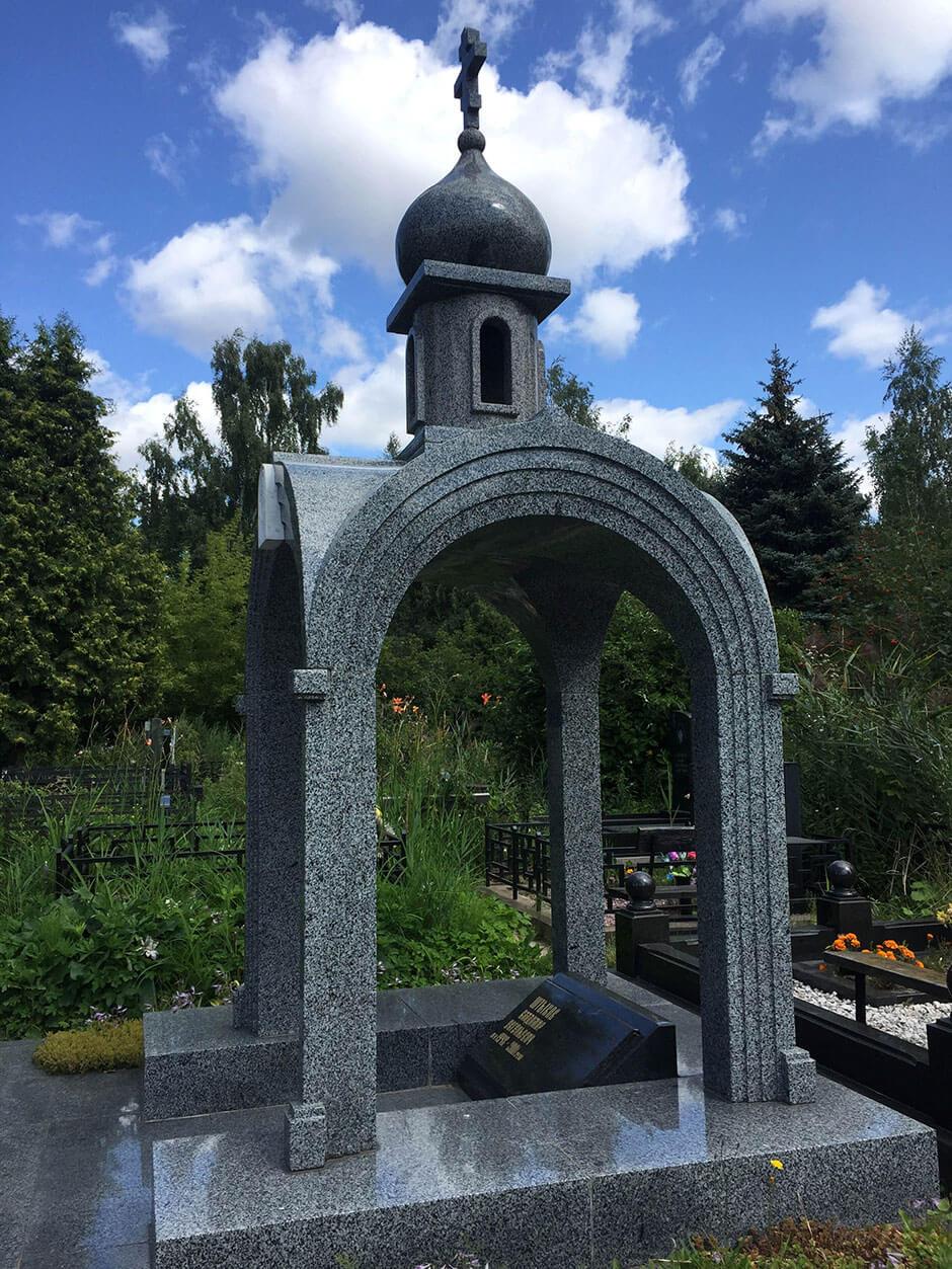 Хованское Северное кладбище. Фото 11
