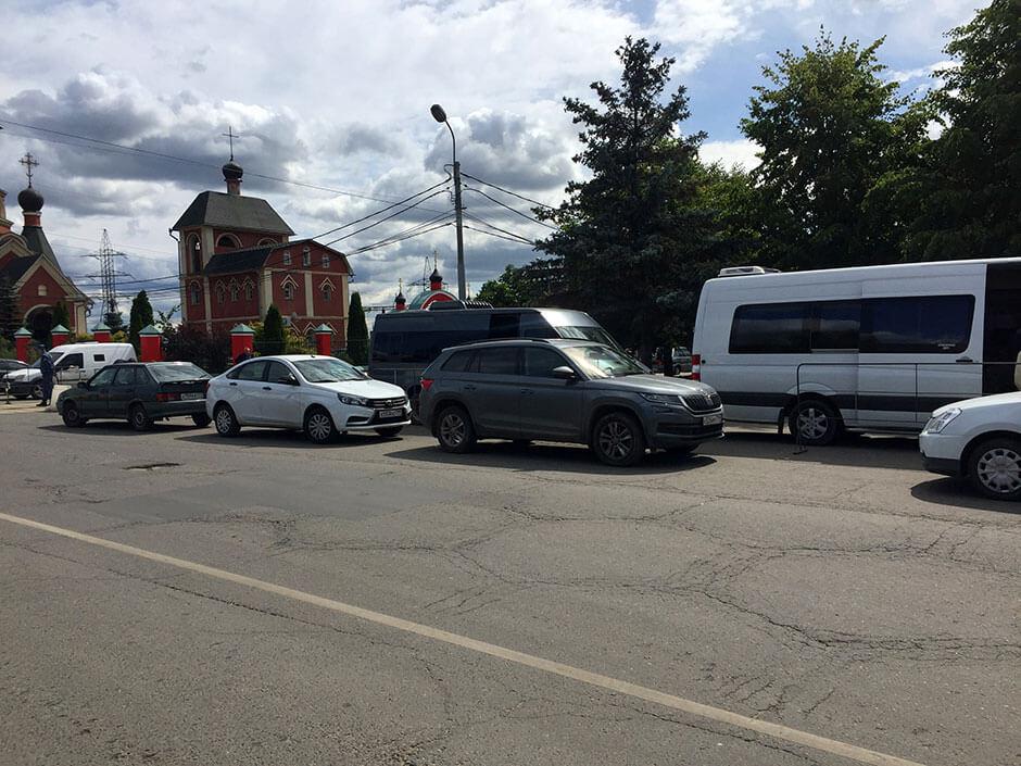 Хованское Центральное кладбище. Фото 4