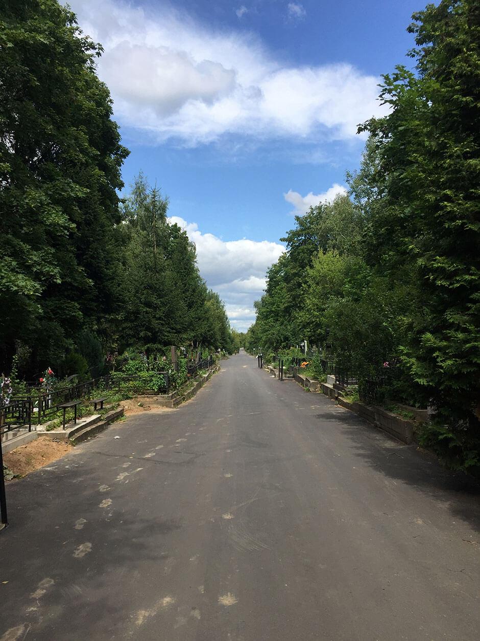 Хованское Центральное кладбище. Фото 6