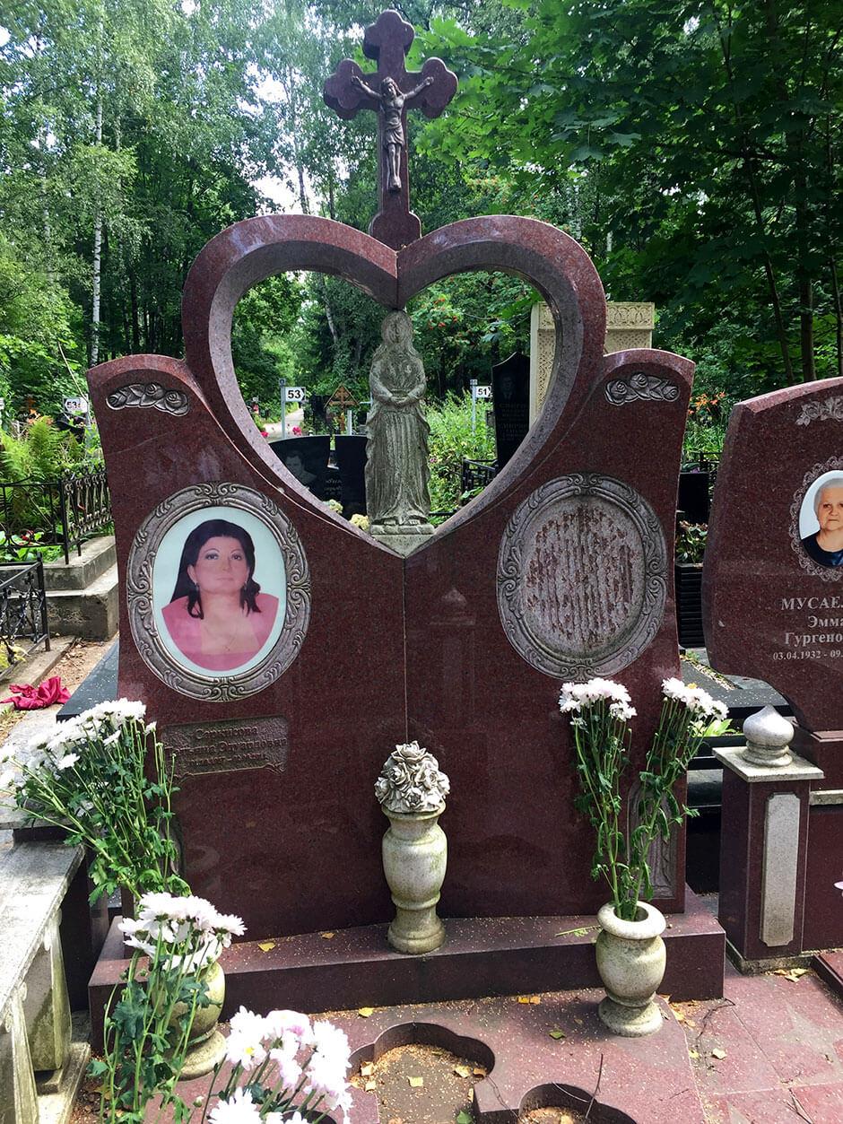 Хованское Центральное кладбище. Фото 7