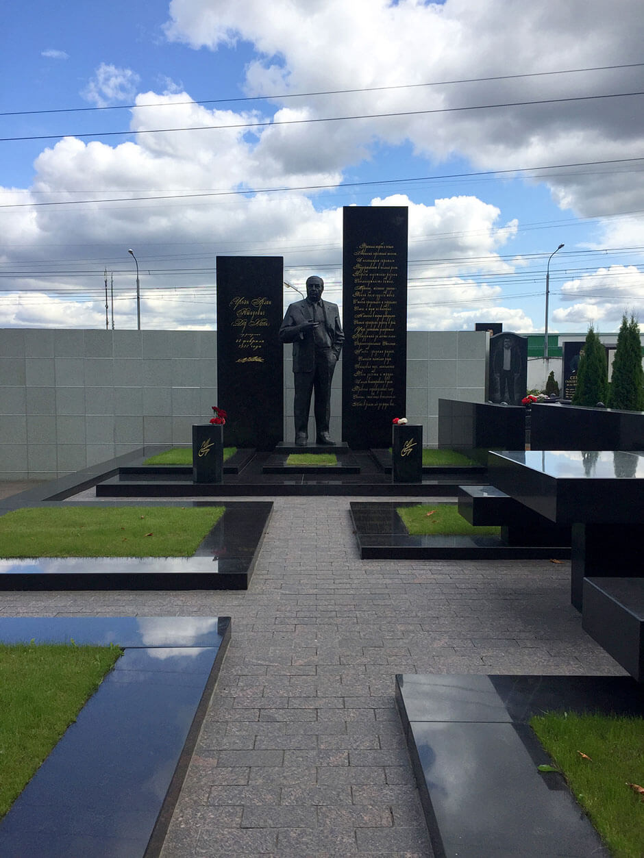 Хованское Центральное кладбище. Фото 8