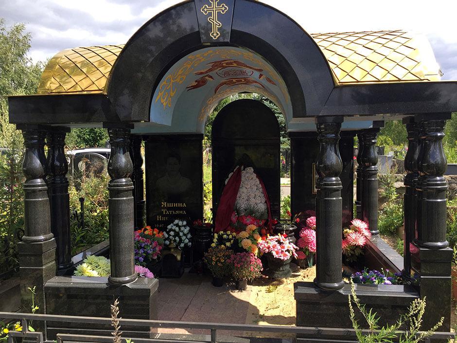 Хованское Западное кладбище. Фото 6