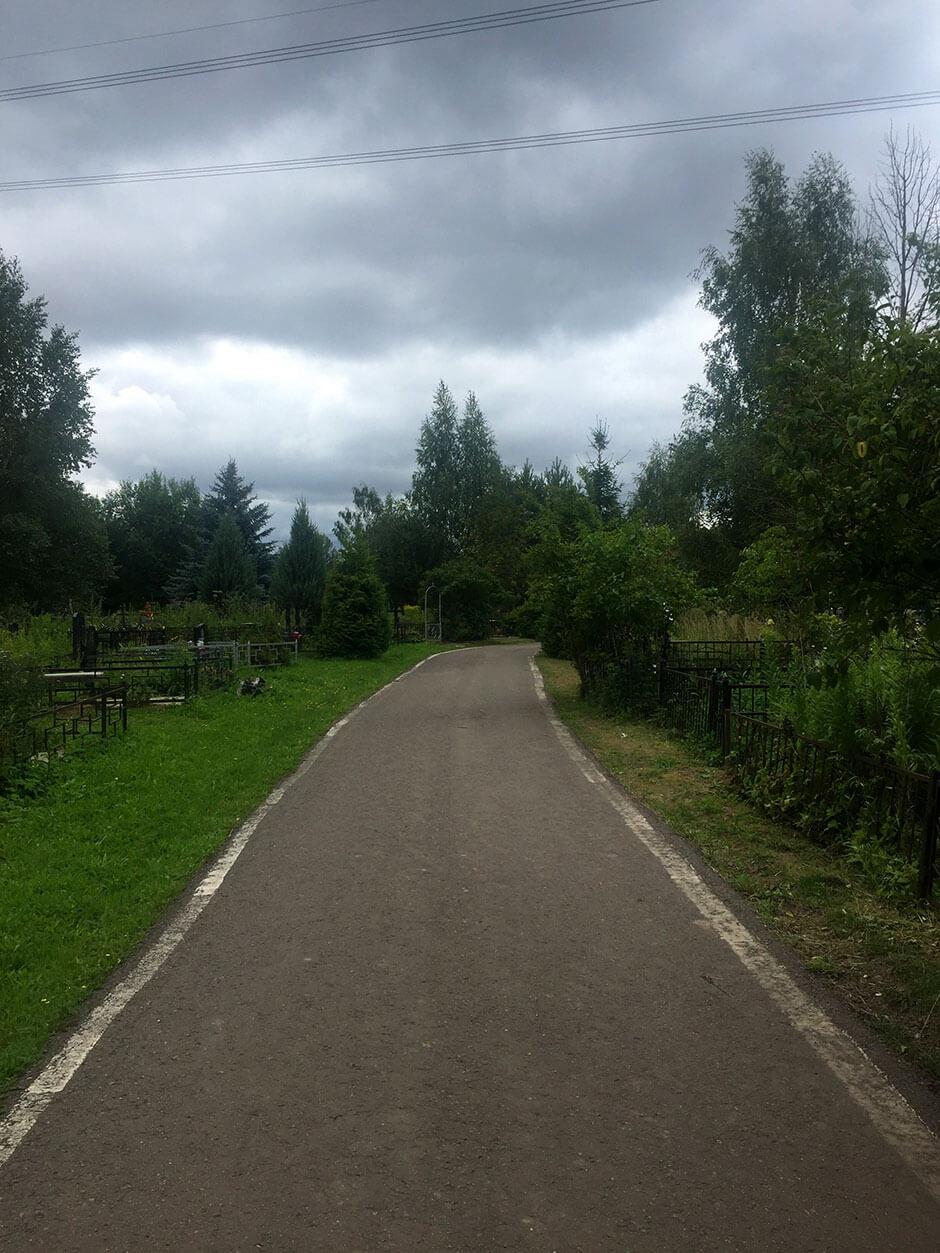 Ховринское кладбище. Фото 5