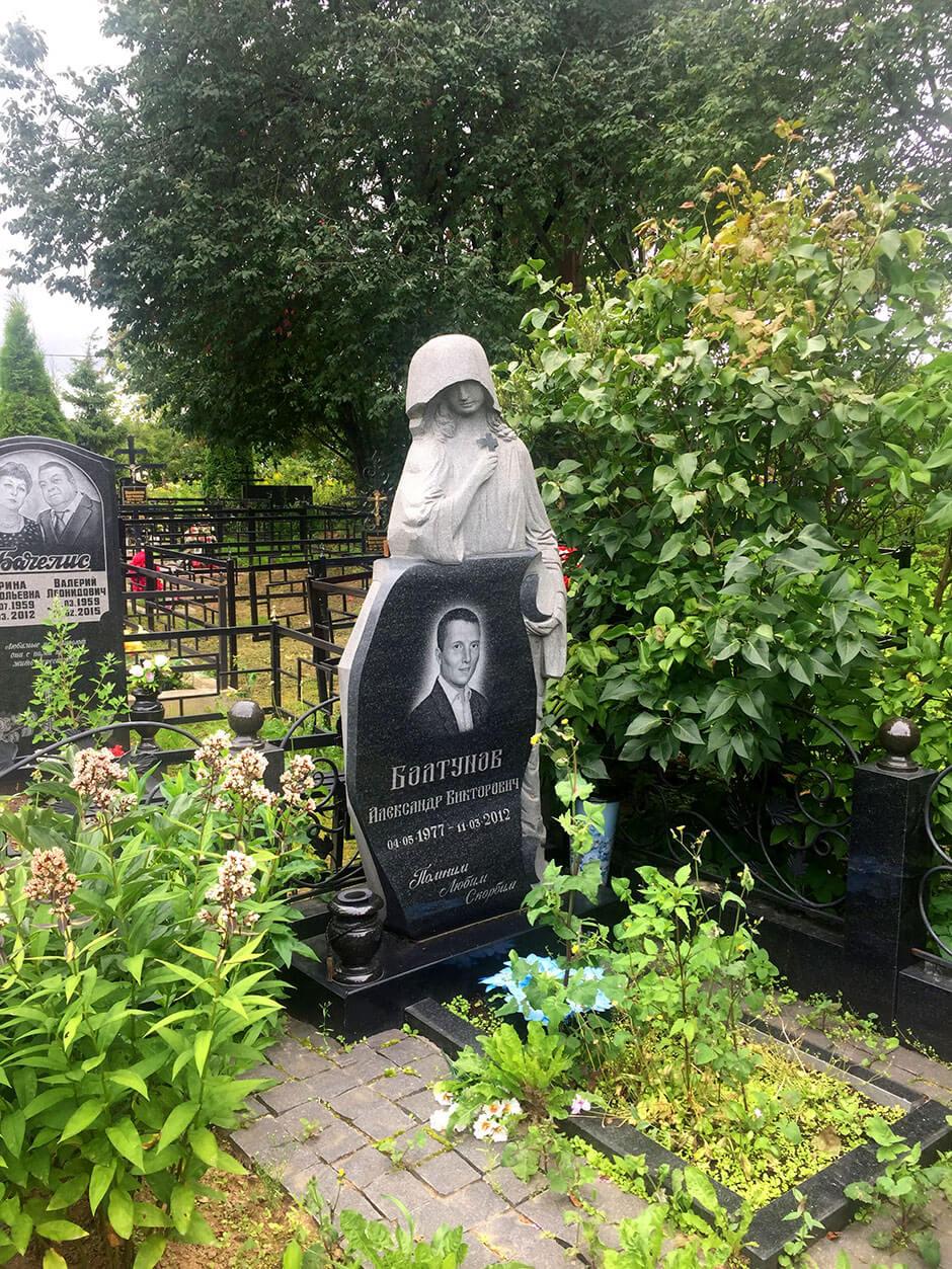 Ховринское кладбище. Фото 6