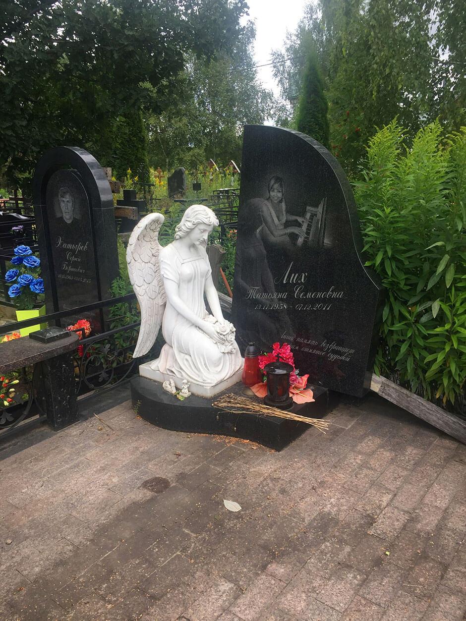 Ховринское кладбище. Фото 7