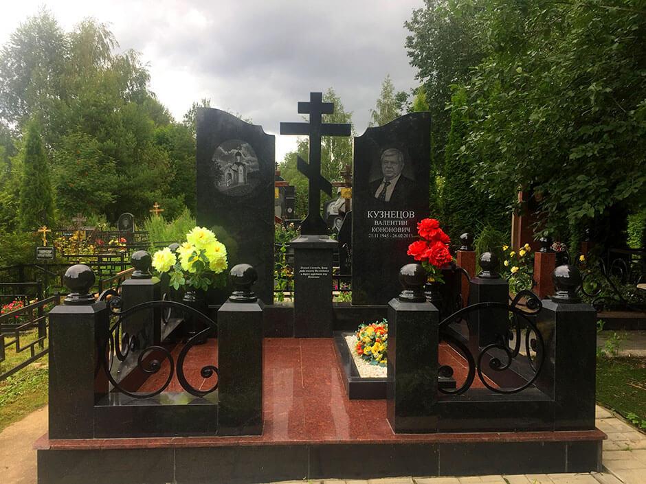 Ховринское кладбище. Фото 8