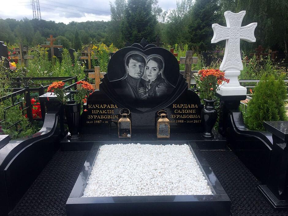 Ховринское кладбище. Фото 9
