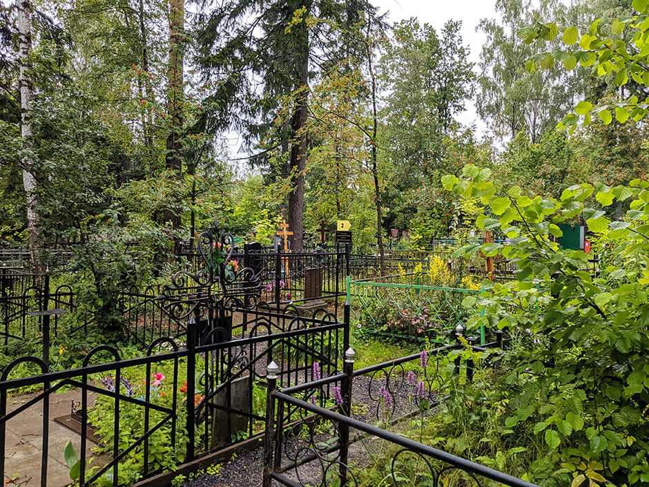 Ивановское кладбище. Фото 1