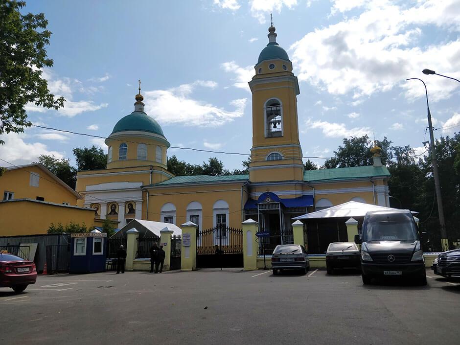 Калитниковское кладбище. Фото 1
