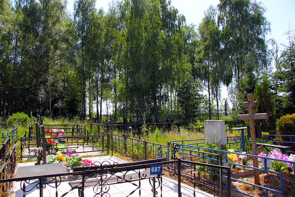 Карповское кладбище. Фото 2