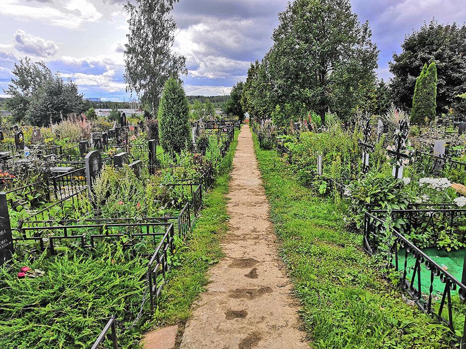 Клязьминское кладбище. Фото 2