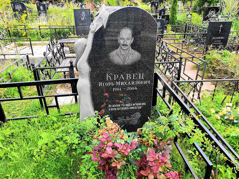 Клязьминское кладбище. Фото 3