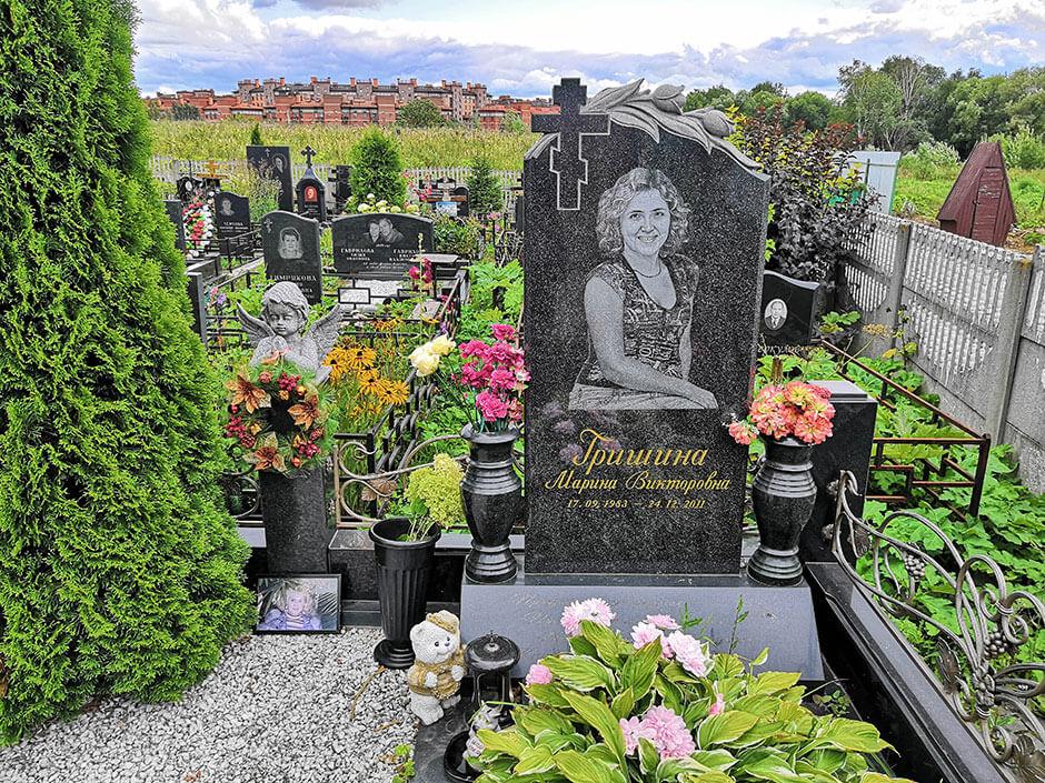 Клязьминское кладбище. Фото 4