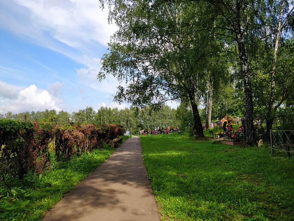 Колычевское кладбище. Фото 1