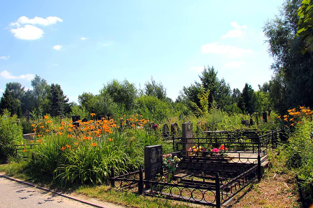 Лайковское кладбище. Фото 2