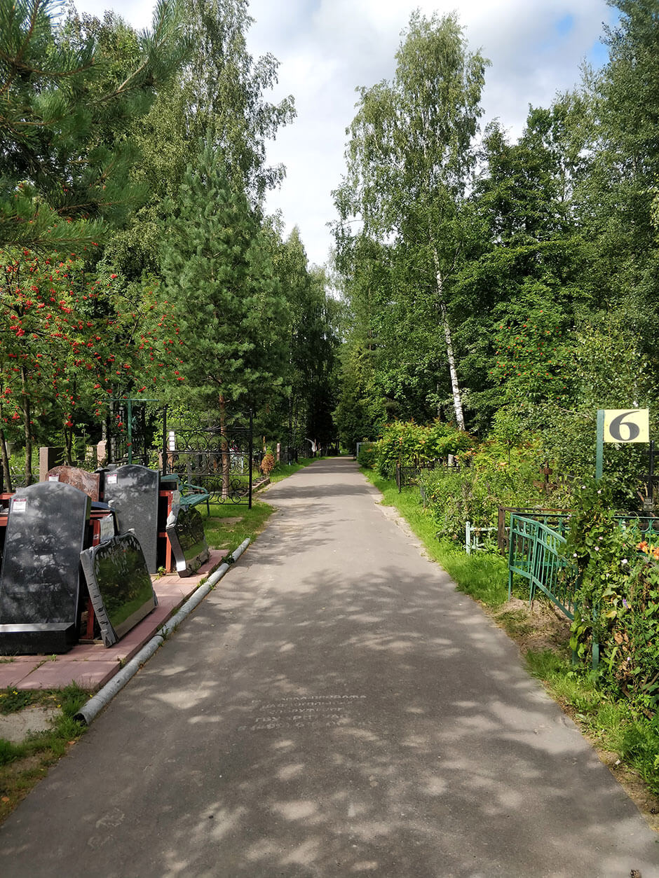 Лианозовское кладбище. Фото 2