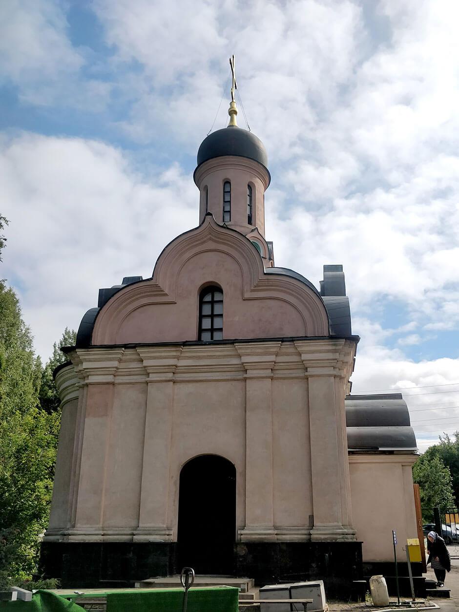 Лианозовское кладбище. Фото 4