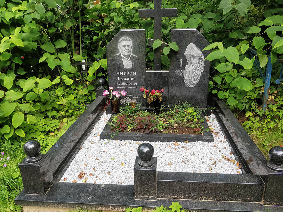 Лианозовское кладбище. Фото 6
