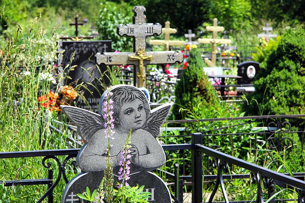 Мамонтовское кладбище. Фото 2